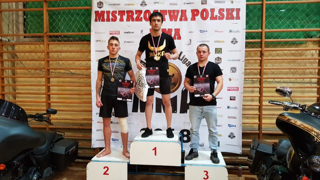 Mistrzostwa Poski MMA 2018 podium