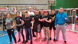 Mistrzostwa Poski MMA 2018 ekipa Silesian Cage Club