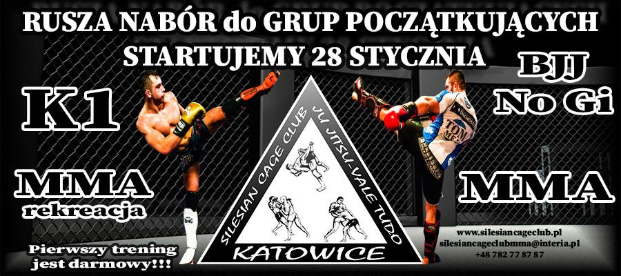 NABÓR do NOWYCH GRUP MMA, K1, BJJ